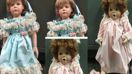 Creepy dolls outside girls houses san clemente cops solve old lady porcelain