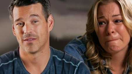 Leann Eddie Rimes Crying Joy Cibrian Turns Down Dallas Role