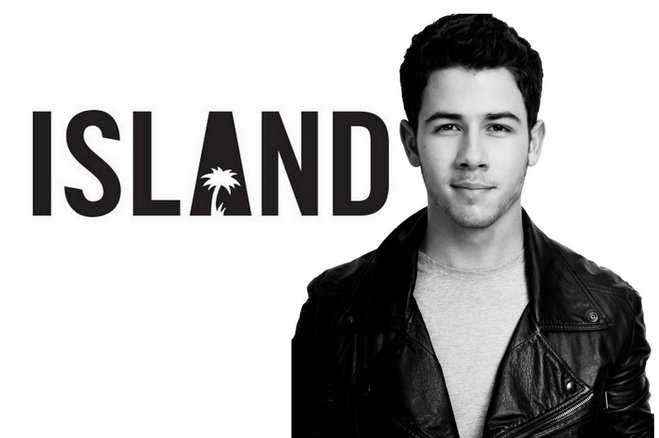 Nick Jonas Island Records Featured