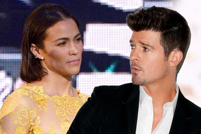 Robin Thicke Divorce Paula Patton Marriage Over Admits Split