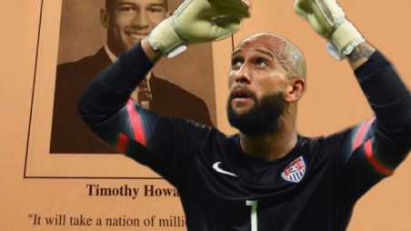 Tim Howard World Cup Year Book Quote US Soccer Team Football