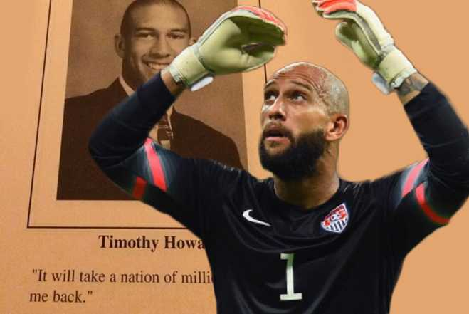Tim Howard Predicted World Cup Greatness Way Back In High ...
