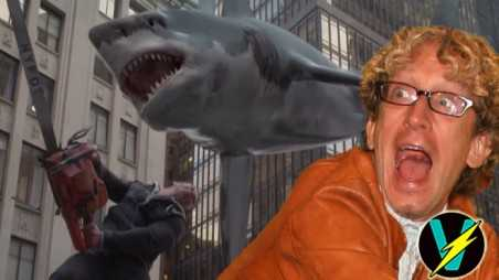 sharknado 2 trailer video game new york cast andy dick