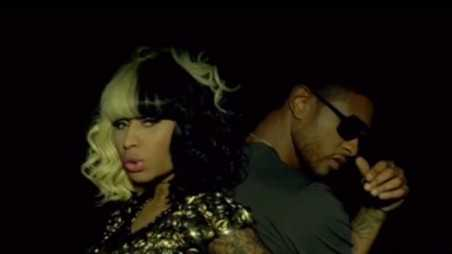 usher nicki feature