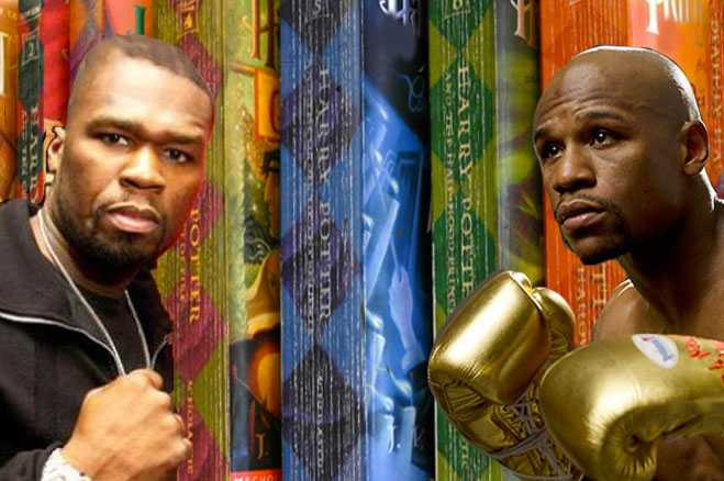 50 cent Floyd mayweather feud challenge read harry potter ice bucket als