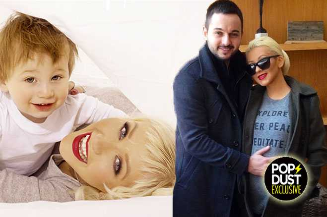 Christina Aguilera Baby girl gives birth c section
