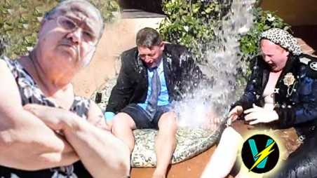 Hollywood hillbillies ice bucket challenge video PSA david weintraub mikey mema