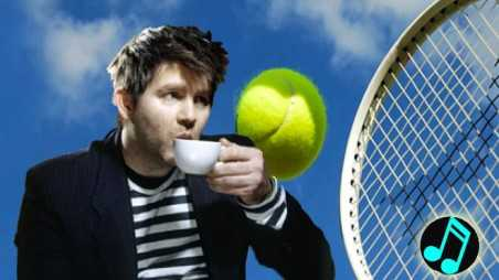 James murphy music tennis us open LCD sound system IBM