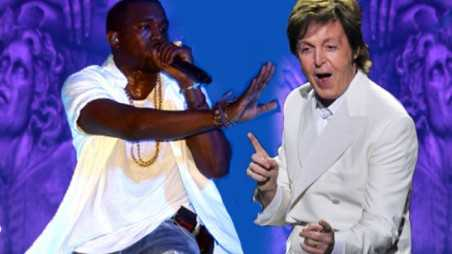 Kanye West Paul McCartney Collaborating Album Piss Grave