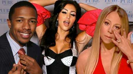 Mariah carey nick cannon split slept kim kardashian blame divorce