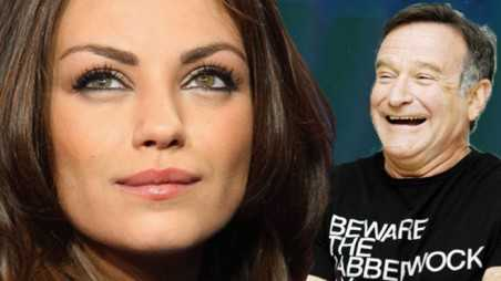 Mila kunis robin williams advice dead poets society moment first met