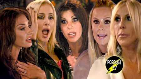 Real Housewives orange county finale bitchy boozing screaming bali