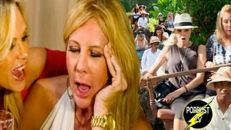 Real Housewives orange county recap bali fight tamra bitch vicki brooks creepy