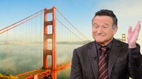 Robin Williams Ashes Scattered San Francisco Bay suicide death