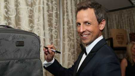 Emmys swag Seth Meyers Backstage Creations Retreat