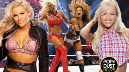 WWE Total Divas summer slam natalya summer rae perfect slap secrets