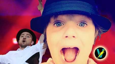 justin timberlake sings happy birthday autistic boy fan video