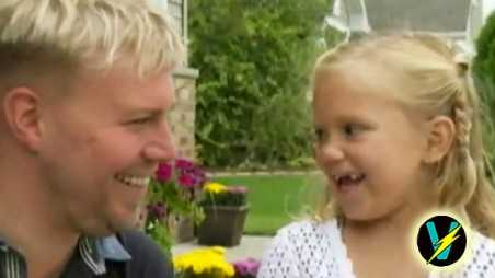 little girl meets bone marrow donor video wisconsin life saved