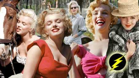 marilyn monroe lost photos rising hollywood star beautiful prime