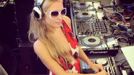 paris hilton dj feature