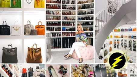 three story closet photos texas woman shoes hoarding hermes burglary
