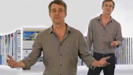 trivago guy ad commercial make over contest facebook haters