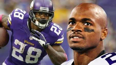 Adrian Peterson child abuser beating son switch minnesota vikings reinstated NFL