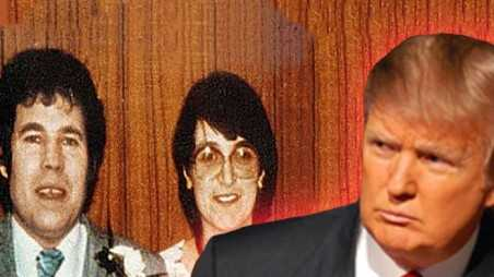 Donald trump fred rosemary west retweet sue inspiration tribute