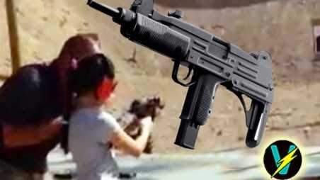 Girl Shoots gun Instructor Dead Uzi Too Powerful 9 year old