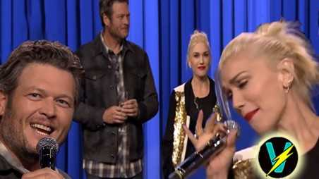 Gwen stefani blake shelton lip sync battle video jimmy fallon