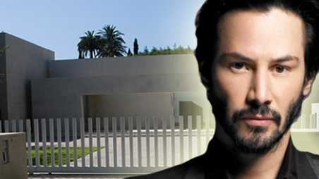Keanu reeves home intruder subdues woman