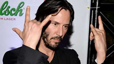 Keanu reeves home intruders two days naked obsessed fans