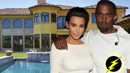 Kim Kardashian Kanye West Bel Air Mansion Photos trash list selling