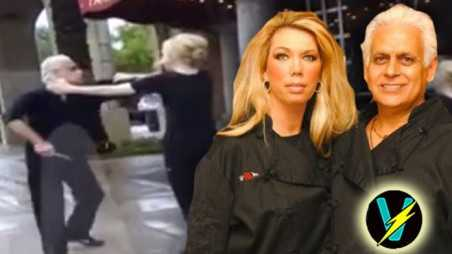 Kitchen nightmares amys bakery attacks knife video Samy Bouzaglo
