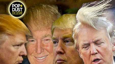donald trump hair photos mystery transplant combover toupee