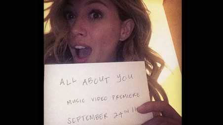 hilary duff video all about you