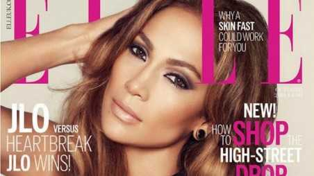 jennifer lopez elle feature