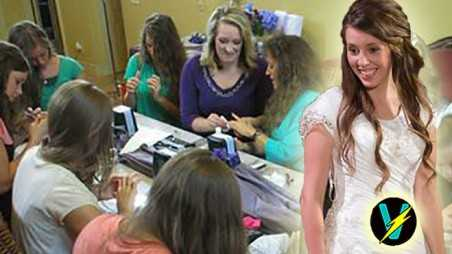 19 kids counting jill duggar wedding countdown pampering video