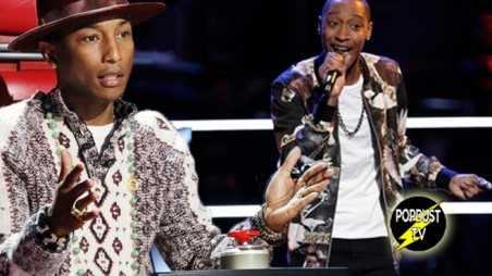 The Voice Knockouts recap pharrell crazy video