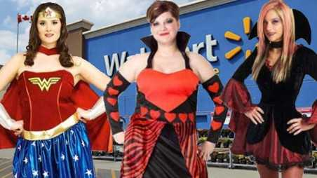 Walmart fat girl halloween costumes apology controversy