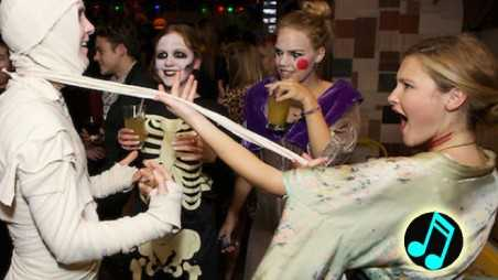 halloween party music playlists