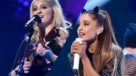 meghan trainor ariana grande feature
