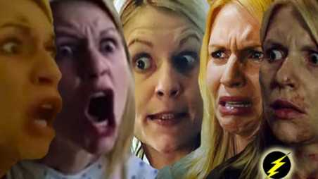 Homeland carrie craziest crying faces photos claire danes