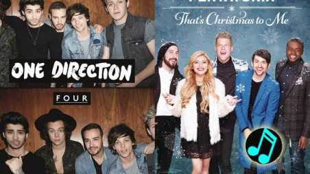 One-Direction,-Pentatonix-On-Billboard-200-Header