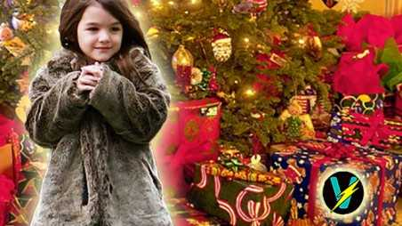 Suri Cruise Christmas Therapy Katie Holmes Ellen Video