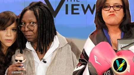 The View Fighting Feuds Rosie Perez Odonnell Whoopi Divas