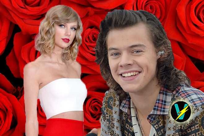 harry styles taylor swift  roses