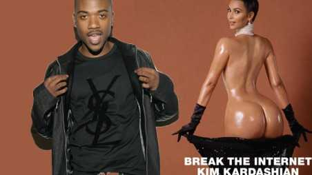 Kim Kardashian's Paper Cover Is Making Ray J Rich!