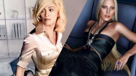 madonna lady gaga versace feature
