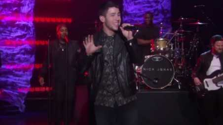 nick jonas ellen feature